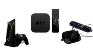 NVIDIA Shield TV, Apple TV, Roku 3 : trois boîtiers TV pour répondre à des envies et des budgets différents