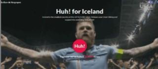 """""""Huh ! For Iceland"""" : communier avec l'équipe d'Islande grâce à un """"clapping"""" virtuel"""