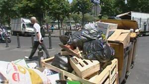 TF1/LCI : Grève des éboueurs : les ordures accumulées dans les rues de Marseille
