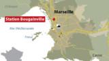 Marseille : un homme meurt après avoir été poussé sur les rails du métro