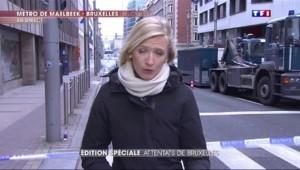 Attentats à Bruxelles : À la station de métro Maelbeek, les enquêteurs sont toujours sur place
