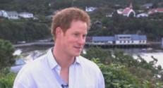 Le prince Harry interviewé par Sky News.
