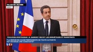 """Sarkozy demande de ne diffuser """"sous aucun prétexte"""" les images des tueries"""