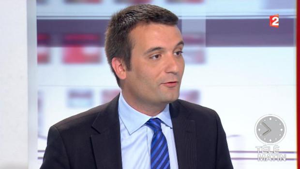 Florian Philippot sur France 2 mardi 12 juin 2012.