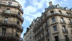 Immeubles anciens à Paris