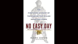 """La couverture du livre """"La mission ayant permis de tuer Oussama ben Laden racontée de l'intérieur"""""""