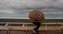 Un parapluie à la plage (archives).