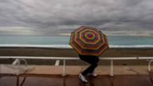 Un parapluie  la plage (archives).
