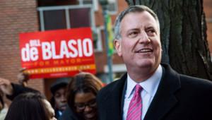 Bill de Blasio, le 4/11/13, à New York