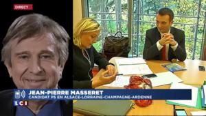 """Jean-Pierre Masseret, candidat PS Grand-Est : """"Je mène un combat de dignité"""""""