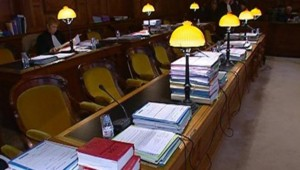 Justice cour audience tribunal