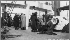 rescapés titanic a bord du carpathia