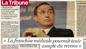 TF1/LCI : Interview de Claude Guéant dans La Tribune (2 juillet 2007)