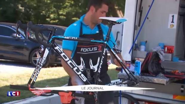 Tour de France : des caméras thermiques pour détecter les moteurs cachés sur les vélos