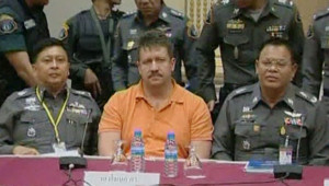 Viktor Bout après son arrestation en Thaïlande, en 2008
