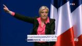 """Marine Le Pen promet une """"grande surprise"""" au premier tour"""