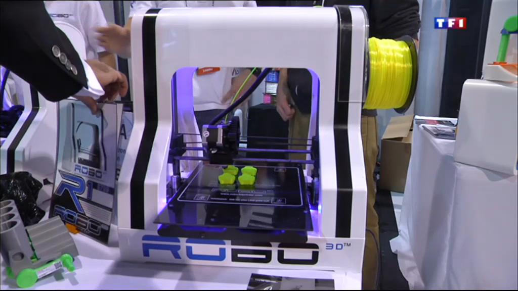 L 39 imprimante 3d star du salon des nouvelles technologies for Salon des nouvelles technologies
