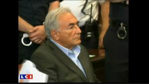 Audience de libération sous caution de DSK : les images
