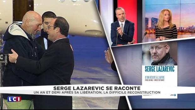 L'ex-otage Serge Lazarevic déconce l'abandon de l'État