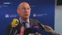 Michel Sapin, minsitre du Travail au micro de LCI