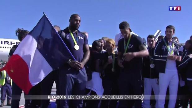 Une journée avec les héros tricolores de Rio