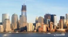 Onze années de construction du One World Trade Center en deux minutes