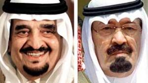 portraits roi fahd et Abdallah (AFP)