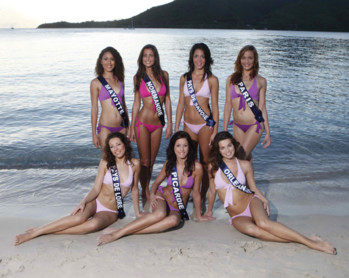 Candidates à Miss France 2010 - 3ème groupe