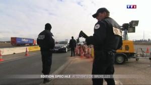 Attentats à Bruxelles : à la frontière, les contrôles ont été renforcés