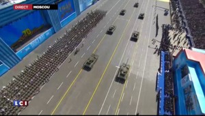 """Défilé du 9 mai à Moscou : Poutine """"remercie"""" les Occidentaux pour """"leur participation à la victoire"""""""