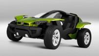 Fiat FFC II Concept : buggy électrique