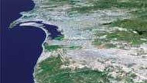 san diego californie 3D DR: JPL
