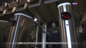 TGV : des portiques anti-fraude testés à Marseille et à Paris