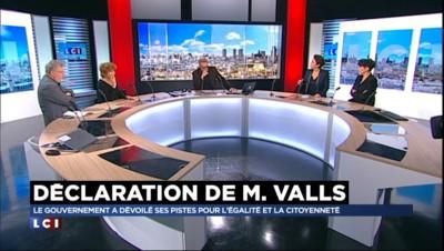 """Déclaration de Valls : """"Sur le logement, il a choisi des solutions autoritaires"""""""