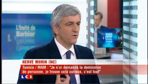 LCI - Hervé Morin est l'invité politique de Christophe Barbier