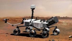 Le robot martien Curiosity.
