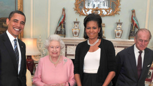 obama elizabeth II
