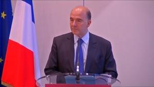 """Perte du AAA : Moscovici """"prend acte"""" et accuse la """"gestion du passé"""""""