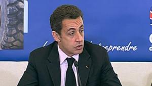 Sarkozy à Sens