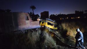 Train accidenté non loin du Caire (15 janvier 2013)