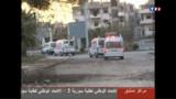 Syrie : la Croix-Rouge bloquée devant le quartier rebelle de Homs