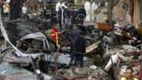"""Attentat à Beyrouth : Hollande parle de """"tentatives de déstabilisation"""""""