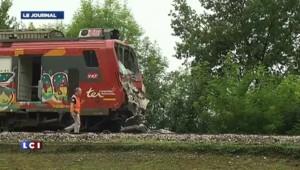 """Collision TGV-TER : un feu """"resté au rouge"""" mis en cause"""