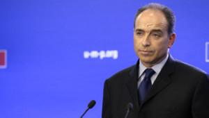 Jean-François Copé au siège de l'UMP le 22 novembre 2012