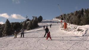 Le 13 heures du 19 janvier 2015 : Les Pyrénées ont enfin revêtu leur manteau blanc - 1466.473