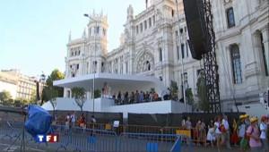 Madrid en effervescence pour les JMJ