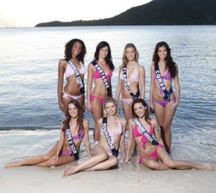 Candidates à Miss France 2010 - 2ème groupe