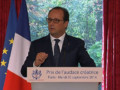 François Hollande le 30 septembre 2014