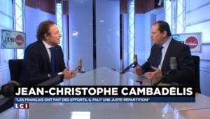 """François Holllande """"n'est pas le planqué de l'Elysée"""", estime Cambadélis"""