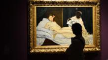 """L'œuvre """"Olympia"""" de Manet"""